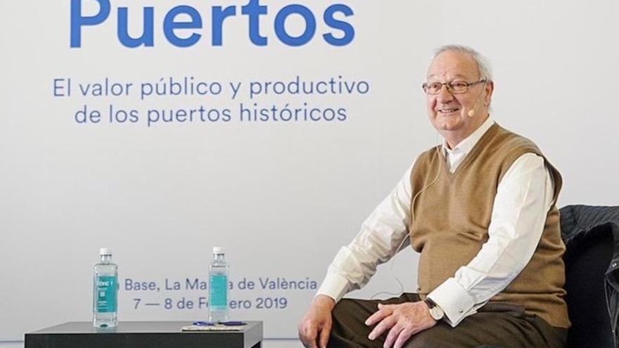 Ricard Pérez Casado, durante su intervención en las jornadas