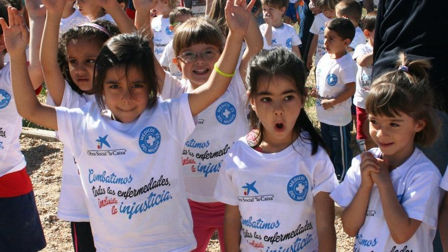 Carrera escolar por el derecho universal a la salud / Foto: Médicos del Mundo