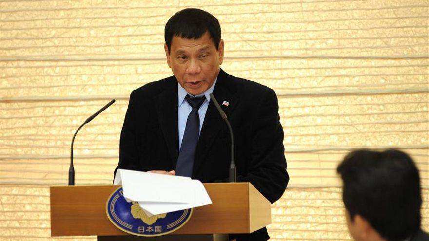 Duterte, el polémico presidente filipino, felicita a Trump por la victoria