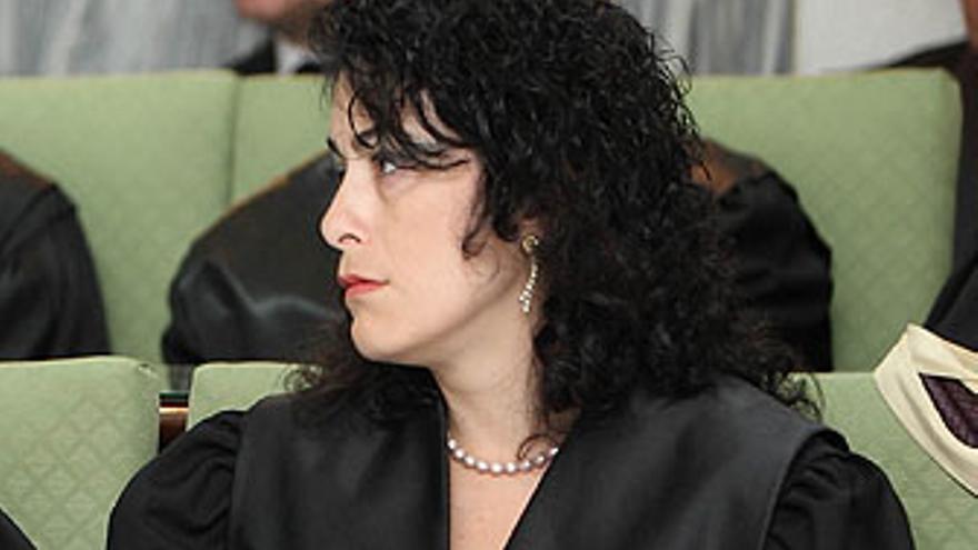 María de los Ángeles Zabala, juez decana de Telde.