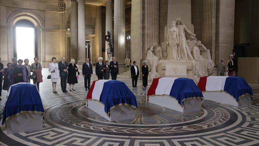 Francia inscribe la memoria de la Resistencia en el Panteón de París