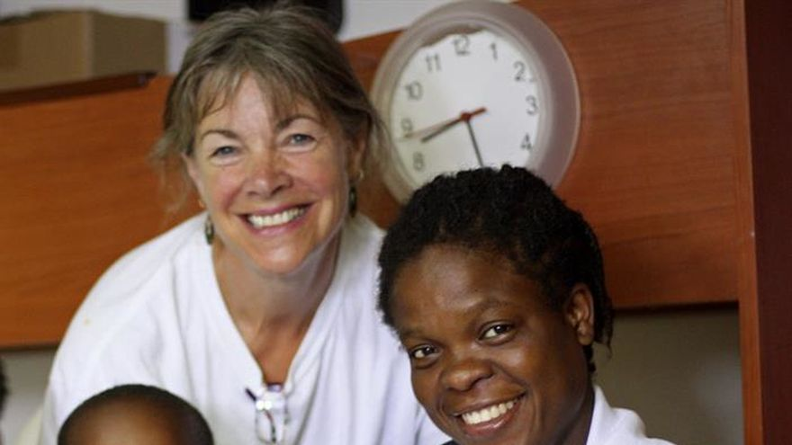 Una mujer nigeriana da a luz en el barco que la rescató en el Mediterráneo