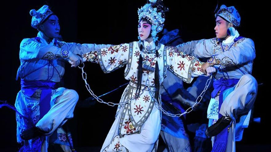 La Ópera de Pekín y el Teatro Real se alían para compartir cultura escénica