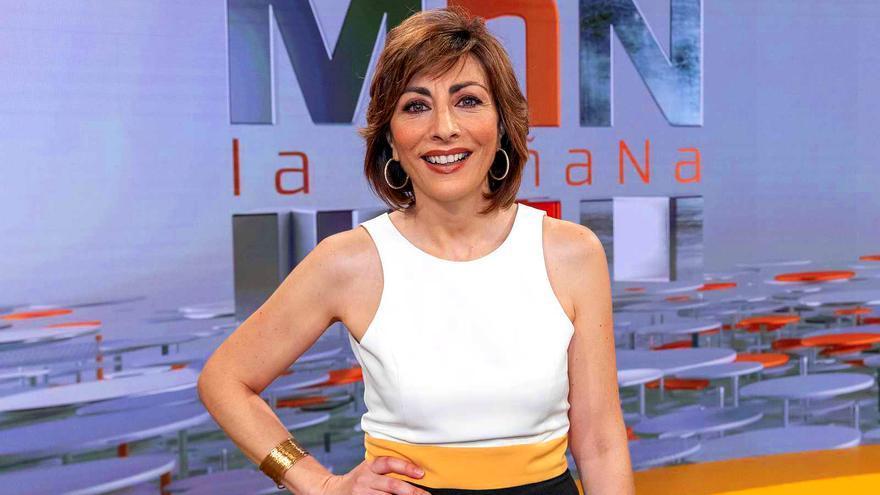 Mamen Asencio, en el plató de 'La Mañana'