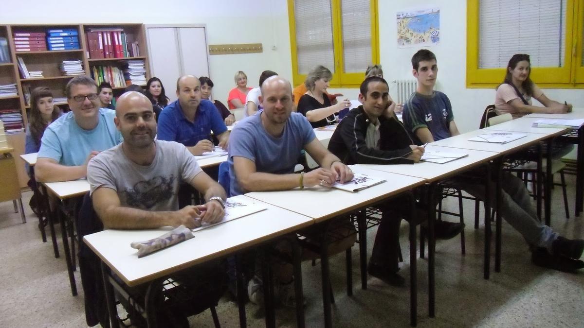 Escuela de adultos de Súria (Barcelona).