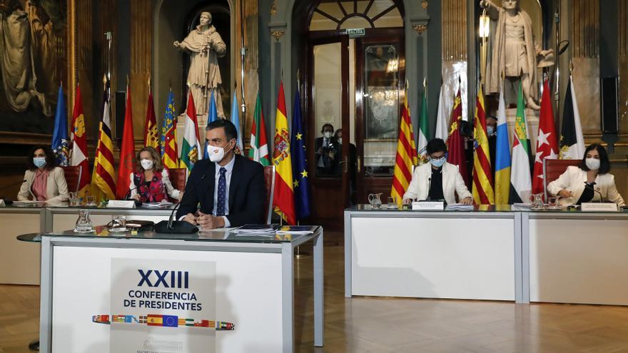 La Conferencia de Presidentes se reúne mañana con la única ausencia de Cataluña