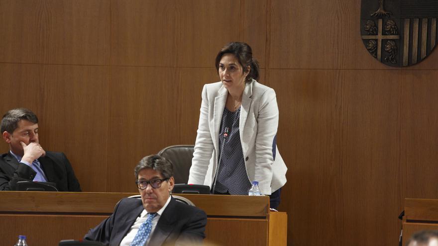 La portavoz de Ciudadanos, Susana Gaspar.