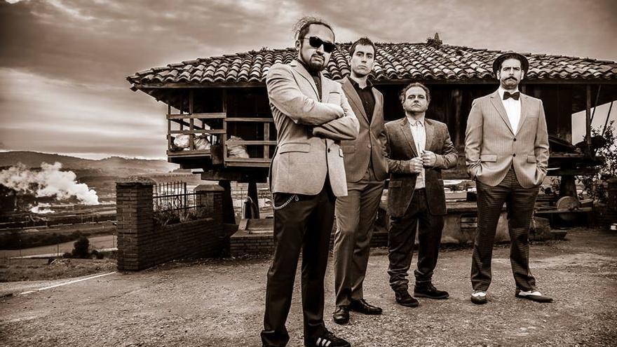 La formación musical asturiana de blues y rock que actuará en la sala Niágara de Santander.