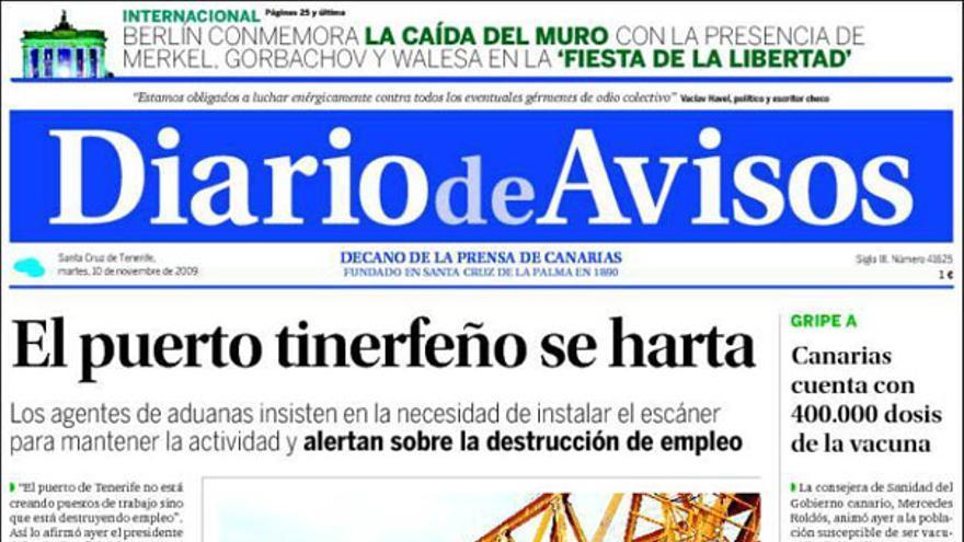De las portadas del día (10/11/2009) #9