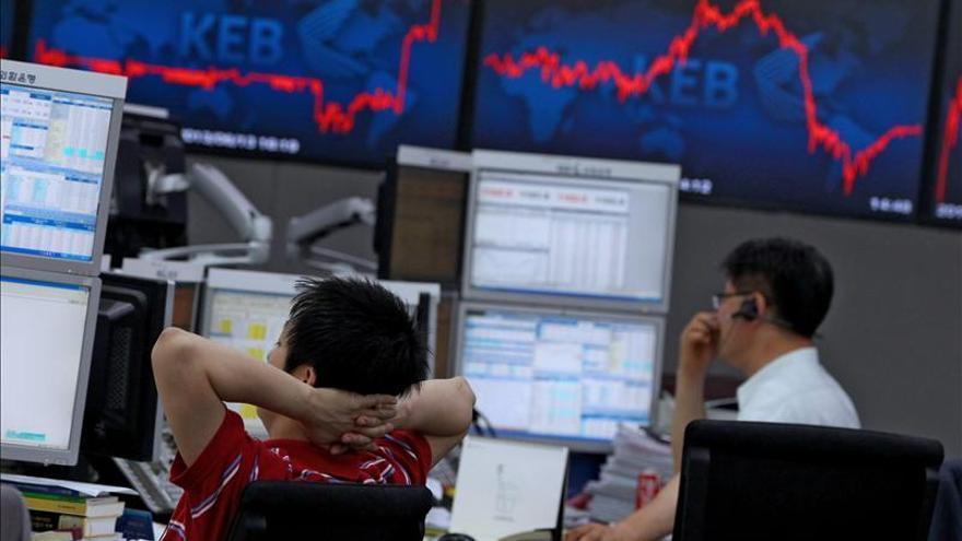 El Kospi surcoreano sube un 0,37 por ciento hasta los 1.974,41 puntos
