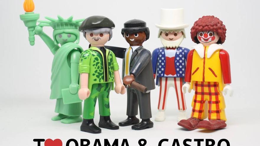 I love Obama & Castro