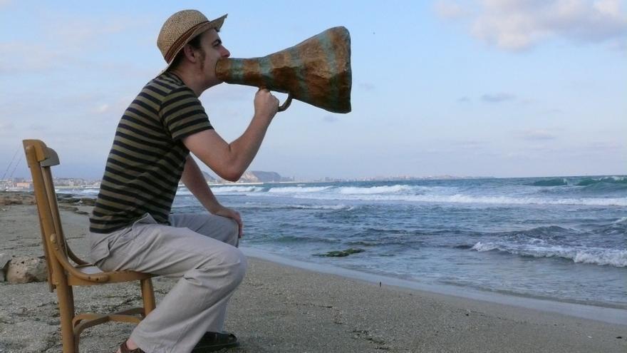 El narrador oral Pablo Albo