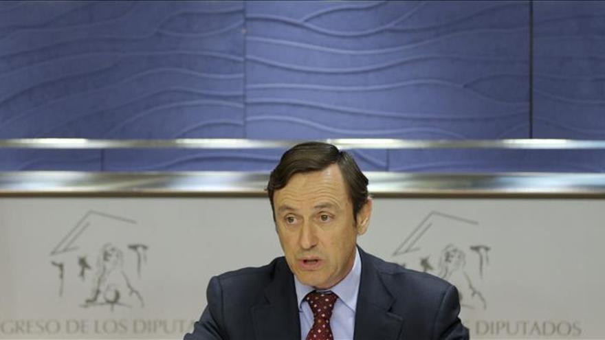 "Hernando (PP) pide a Podemos que evite insultos que ""rayan en lo delictivo"""