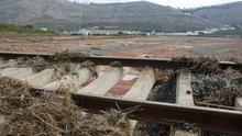 Restablecido el tráfico de tren entre Málaga y Córdoba tras las inundaciones