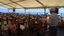Curbelo durante su intervención en Las Nieves