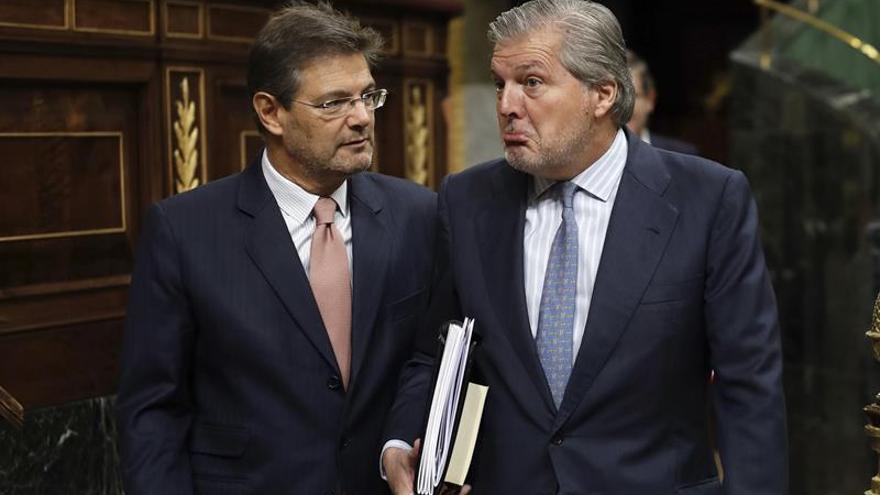 El Gobierno exige a Puigdemont no buscar en la calle legitimidad que no tiene