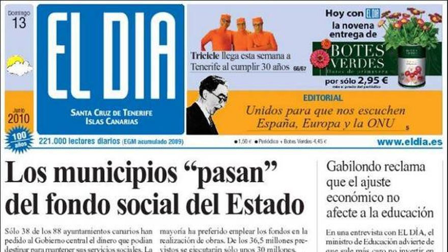 De las portadas del día (13/06/2010) #4