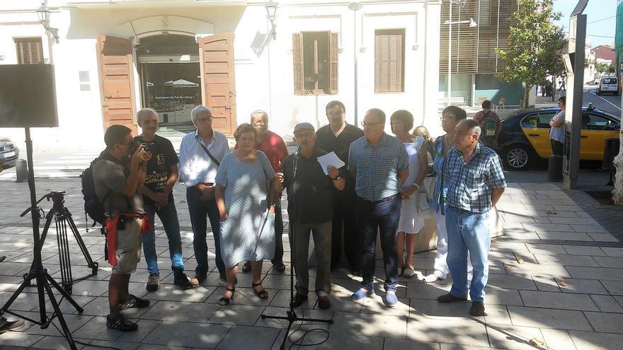 Exalcaldes y exconcejales de PSC e ICV en el Baix Llobregat llaman a participar en el 1-O