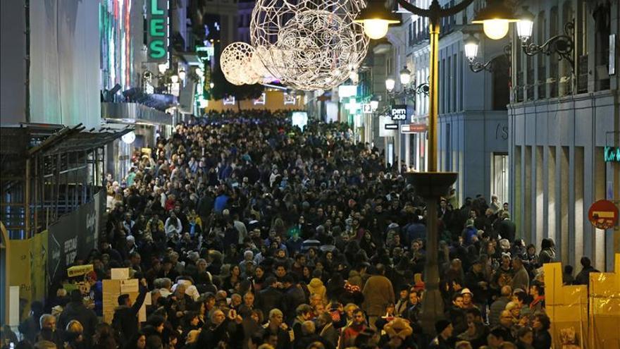 Los españoles gastarán estas navidades prácticamente lo mismo que en 2014