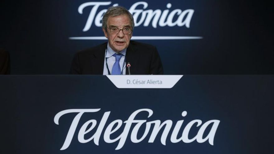El expresidente de Telefónica César Alierta.
