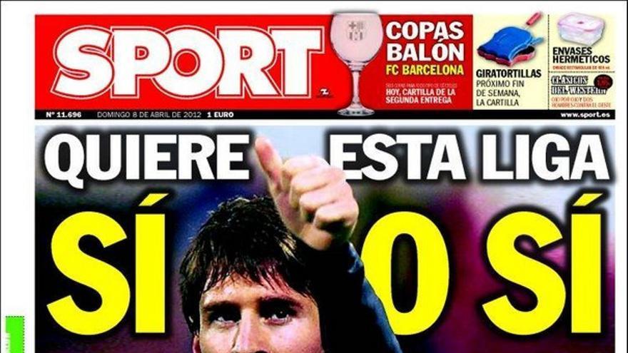 De las portadas del día (08/04/2012) #14