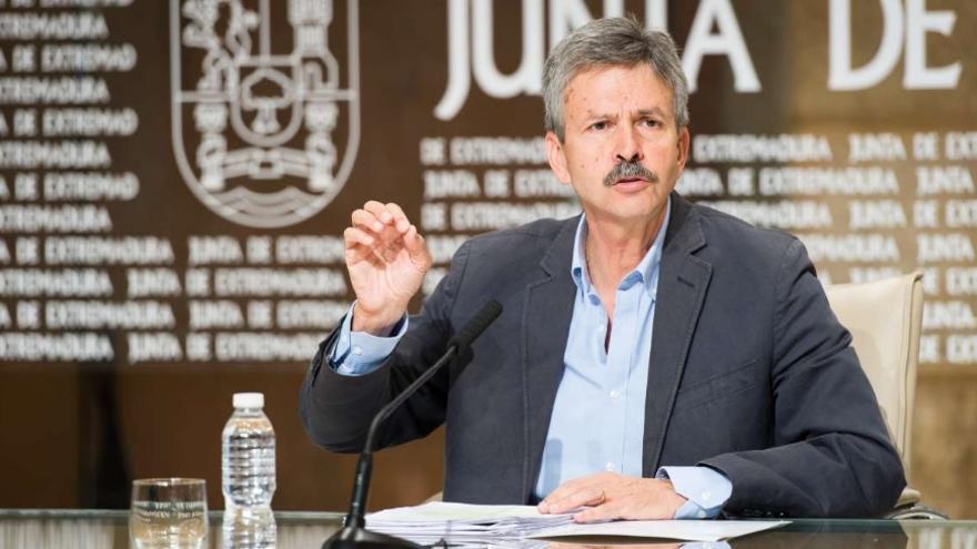 El consejero de Economía e Infraestructuras, José Luis Navarro