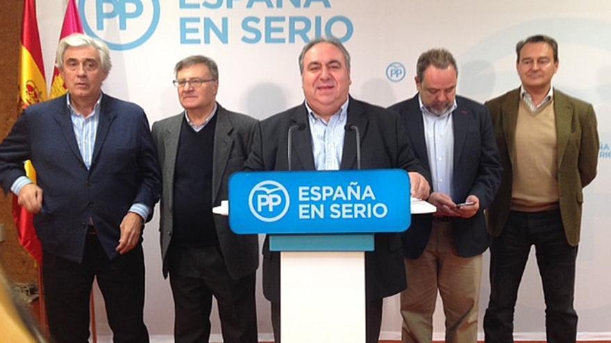 Comparecencia del PP de Castilla-La Mancha / EUROPA PRESS