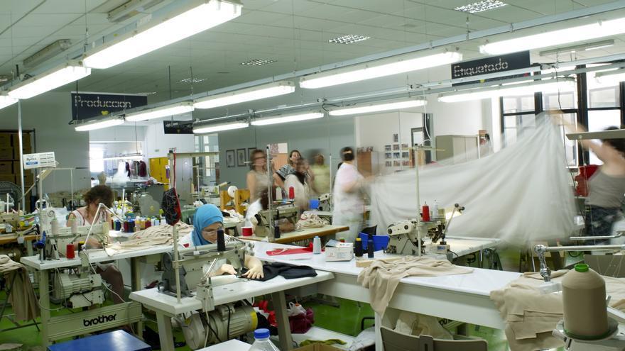 Taller de la marca de textil para el hogar Malas Meninas