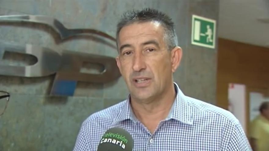 Claudio Gutiérrez Vera, candidato al Senado por Fuerteventura (RTVC)