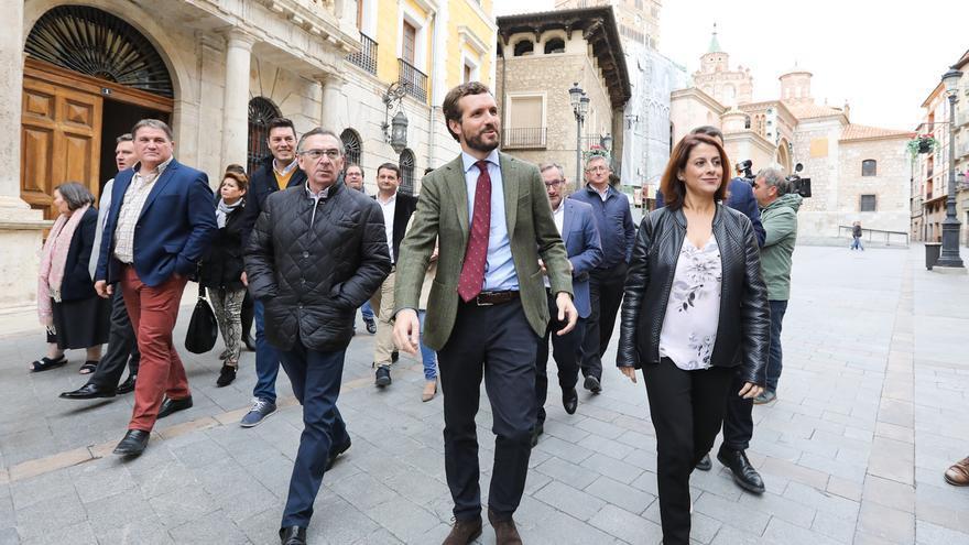"""Casado (PP) dice que """"Torra es el jefe supremo de los Mossos porque Sánchez quiere"""""""