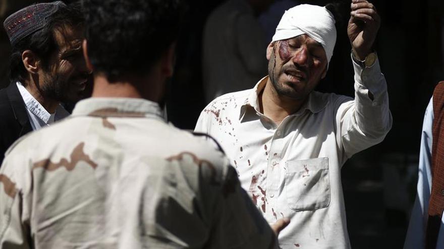 El Gobierno eleva a 80 los muertos y a más de 300 los heridos por el atentado en Kabul