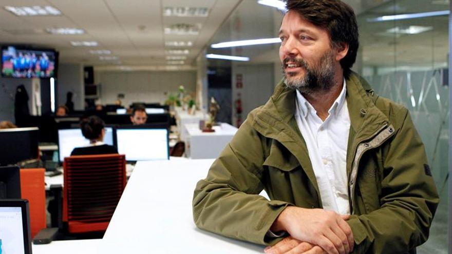 Ibán Yarza durante la entrevista con Efe. EFE/ Álvaro Sánchez