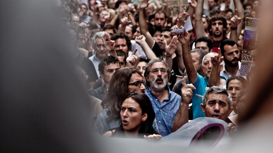 Manifestación educativa Barcelona