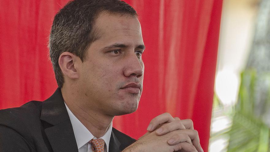"""Guaidó, sobre Delcy Rodríguez en Madrid: """"Lo que queda claro es la consecuencia de un sancionado pisando suelo europeo"""""""