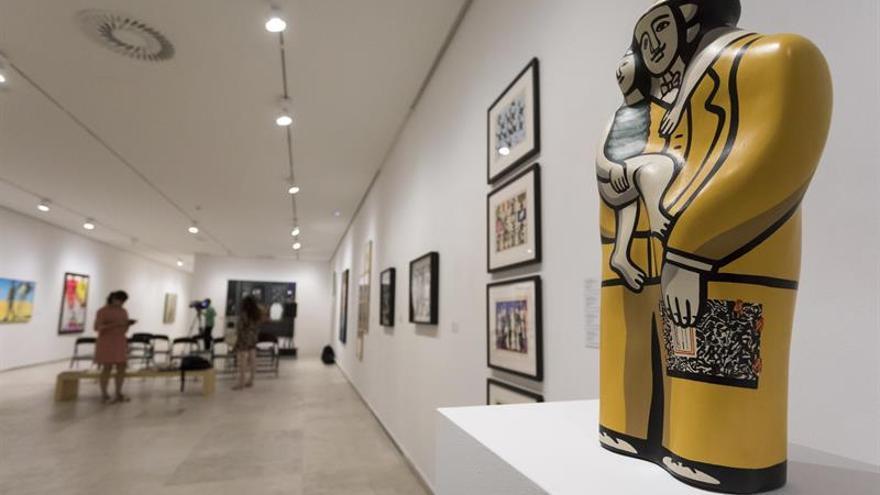 Cien obras de Pop Art internacional colman de arte el Museo Patio Herreriano