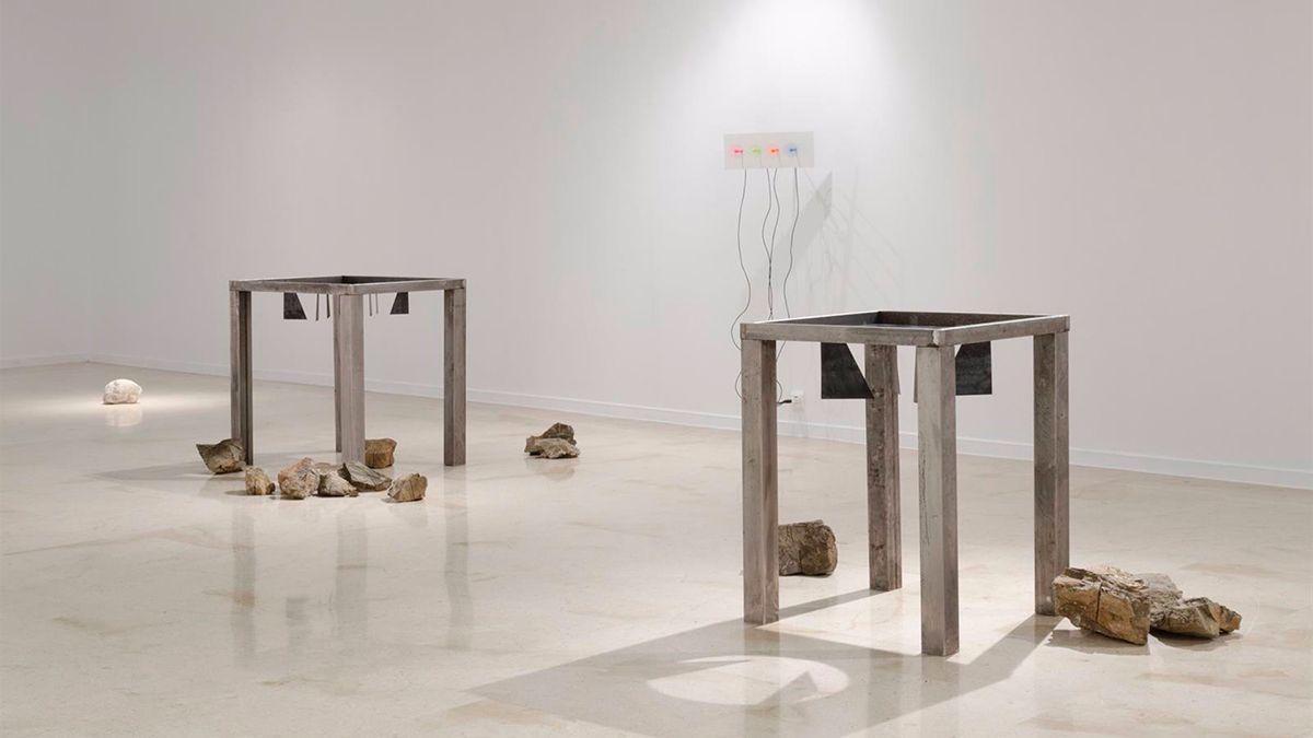 La obra 'Desmontar el Cerro, 2020/21', de Eduardo Rodríguez.