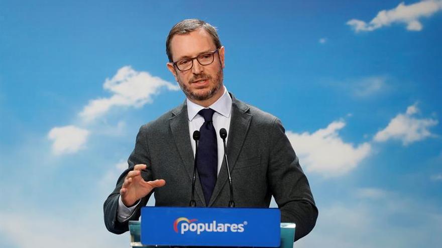 """El PP critica la """"inmadurez política"""" de Ciudadanos y Vox en Murcia"""