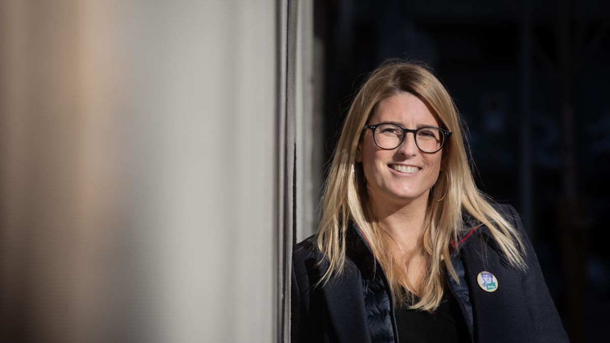 La vicepresidenta de JxCat y portavoz municipal del partido en Barcelona, Elsa Artadi, en una imagen de archivo.