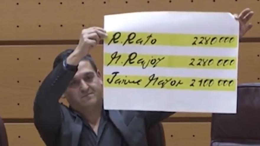 Mulet saca la bandera de los papeles de Bárcenas en el Senado