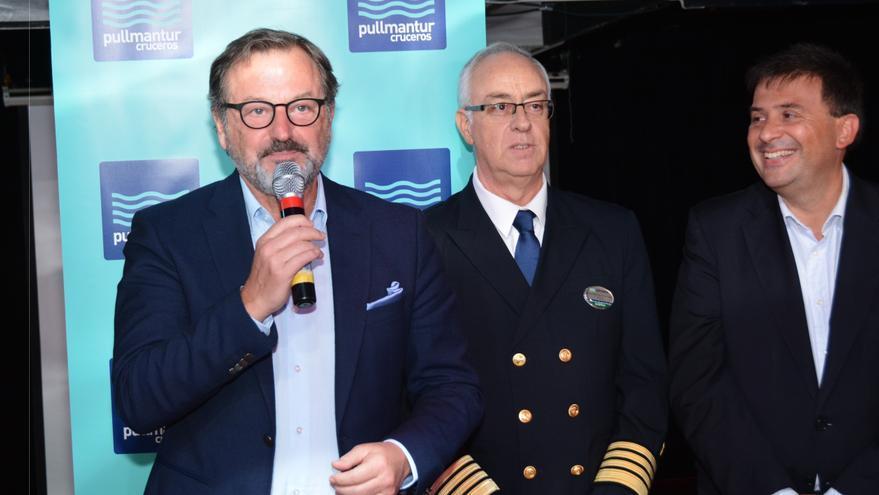 Presentación de la nueva ruta de crucero entre Canarias y Marruecos
