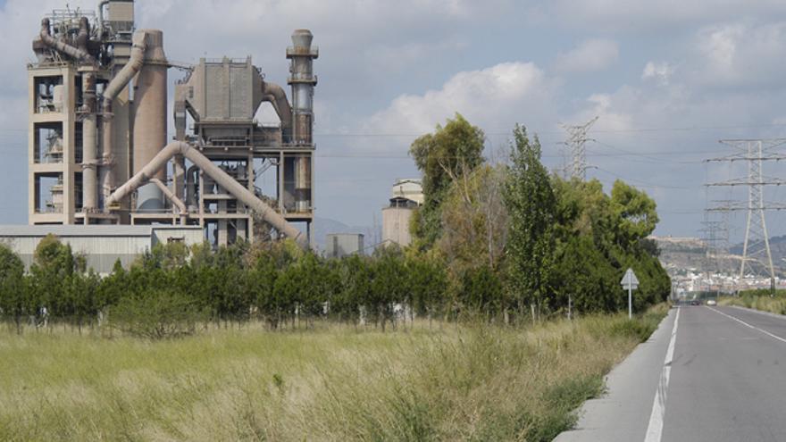 Fábrica de Lafarge-Holcim en Sagunt