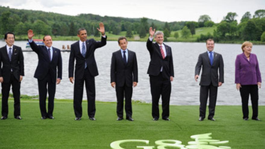 Líderes del G8. (EP)