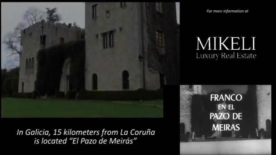 Fragmento del vídeo promocional de la inmobiliaria