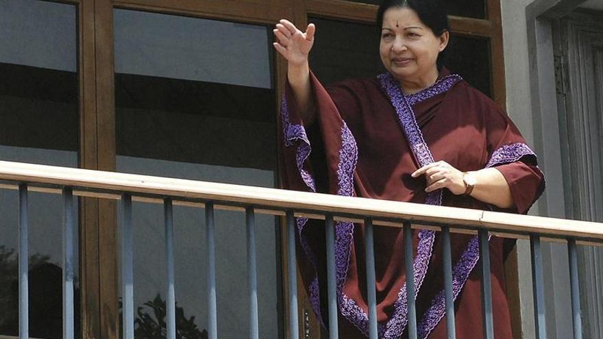 """Fallece la popular política india Jayalalithaa, la """"madre"""" de los tamiles"""