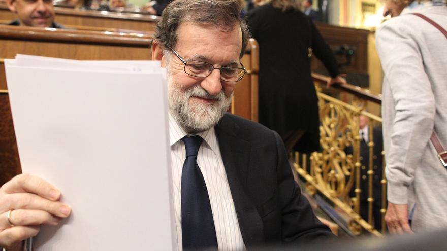 """Rajoy, sobre si será de nuevo candidato del PP en las generales: """"Mi idea a fecha de hoy es intentar repetir"""""""