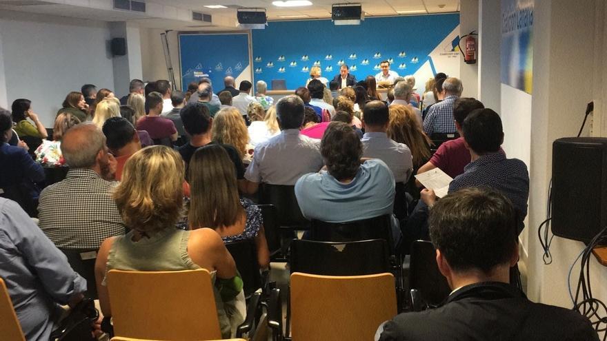 Asamblea local celebrada este jueves en la capital tinerfeña