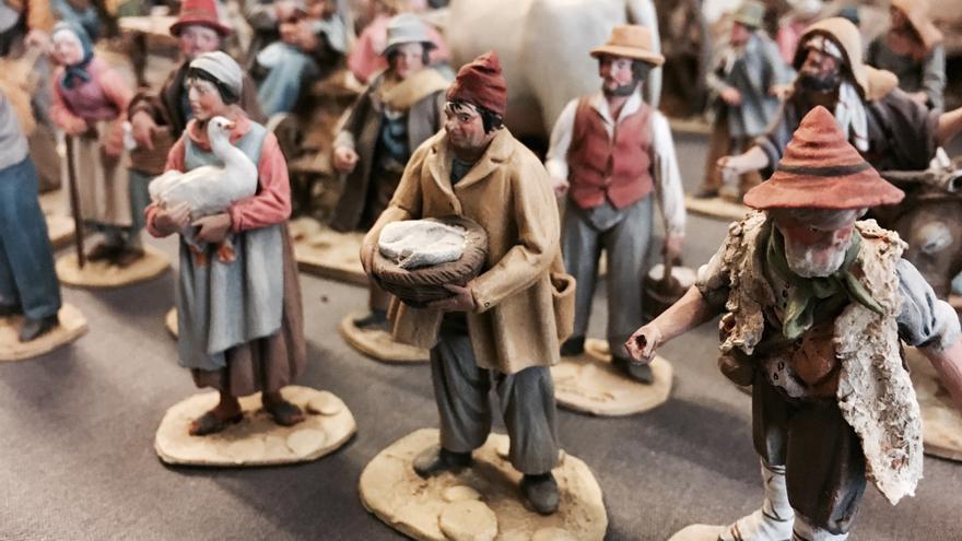 Figuras napolitanas, en el congreso de belenismo de Vitoria