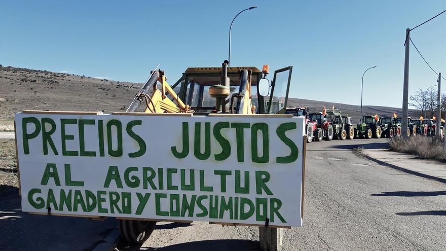 Manifestación en Molina de Aragón