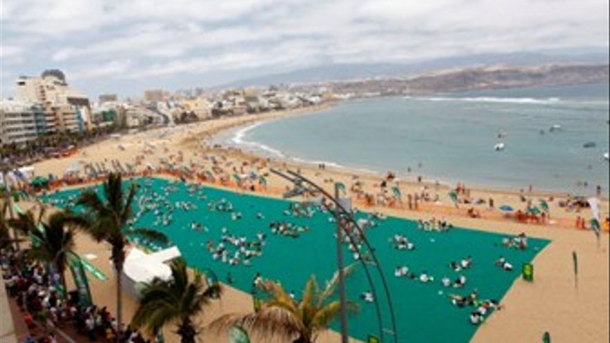 Playa de Las Canteras. (ACFI PRESS)