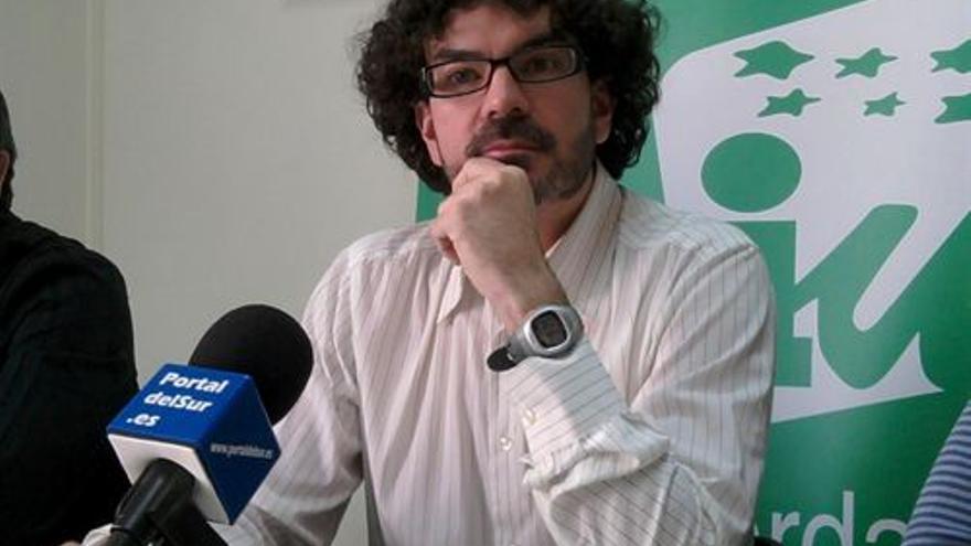 El coordinador general de IU-CM, Eddy Sánchez. / Europa Press